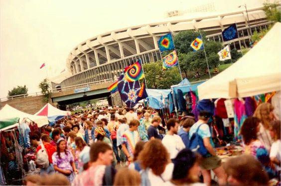 grateful dead RFK Stadium 1989