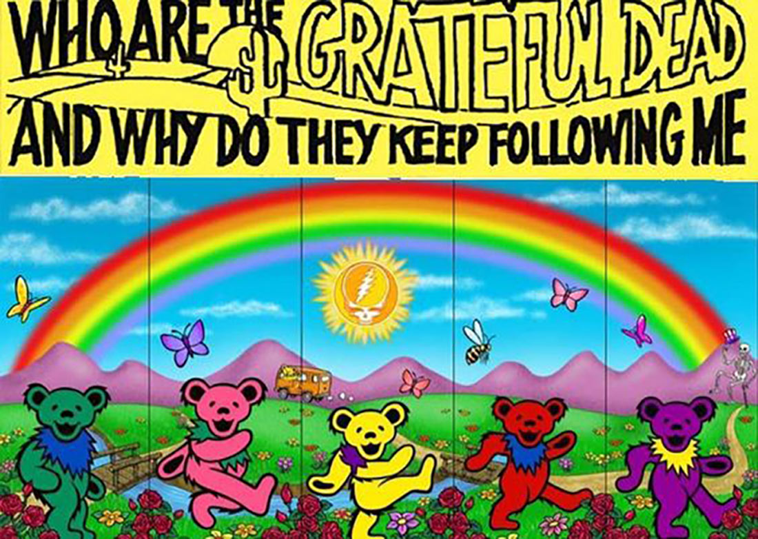 Grateful Dead envelope art