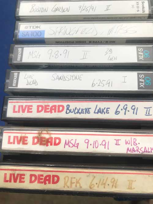 grateful dead fan tapes