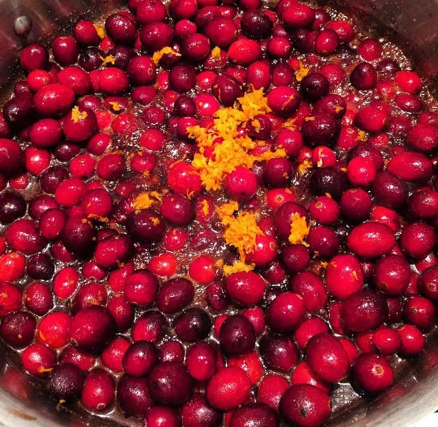tradition cranberry sauce recipe