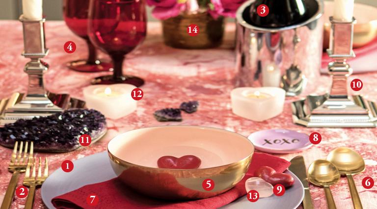 Valentine's Day: A Splendid Table