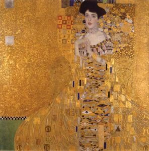 klimt portrait travel deeper