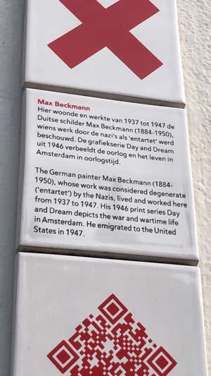 max beckmann residence travel deeper