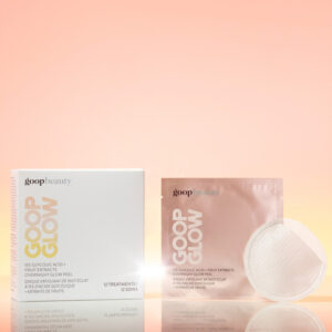 goop glow peel face mask