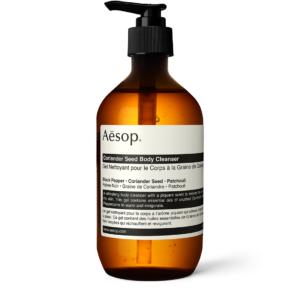 aesop coriander body wash